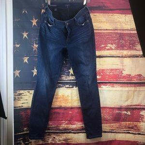 Nyjd ami skinny jeans 12 medium dark wash stretch